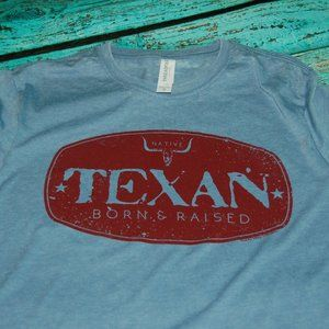 Texan Born & Raised Tee